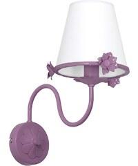 Prezent Dětské nástěnné svítidlo ALICE 1xE14/60W/230V fialová LU7938