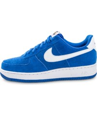 Nike Baskets Air Force 1 Suede Bleu Homme