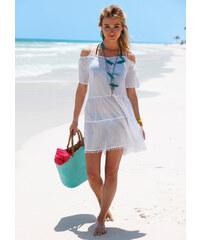 RAINBOW Robe de plage blanc femme - bonprix