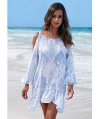 bpc selection Tunique de plage bleu femme - bonprix