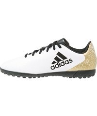 adidas Performance X 16.4 TF Chaussures de foot multicrampons white/core black/gold metallic