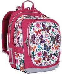 Topgal Školní batoh CHI 740 B - White