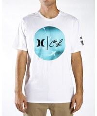 Hurley tričko s krátkým rukávem CLARK WEEK   White