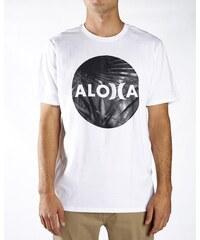 Hurley tričko s krátkým rukávem JJF ALOHA KRUSH   White