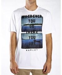 Hurley tričko s krátkým rukávem JJF THERE YOU ARE PHOTO TEE   White