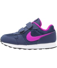 Nike Sportswear MD RUNNER 2 Baskets basses midnight navy/hyper violet/blue tint/black