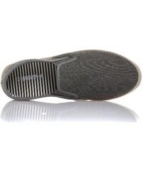 Blz Jeans Espadrilles Espadrille élastique gris foncé et tressé