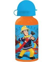 Feuerwehrmann Sam Alu-Trinkflasche blau in Größe UNI für Jungen