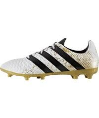 adidas Performance ACE 16.3 FG Chaussures de foot à crampons white/core black/gold metallic