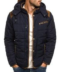 J. Style Zimní bunda modré barvy J.STYLE 3087