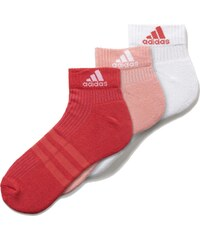 Ponožky adidas 3S Ankle Half Cushioned 3Pp růžová