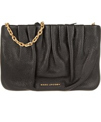 Marc Jacobs Sacs à Bandoulière, Gathered Pouch With Chain Crossbody Black en noir