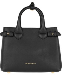 Burberry Sacs portés main, House Check Derby Tote Bag Black Small en noir