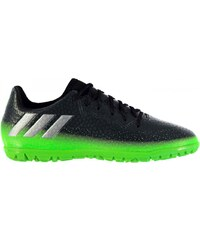 Adidas Messi 16.3 Astro Turf Trainers Childrens, dkgrey/solgreen