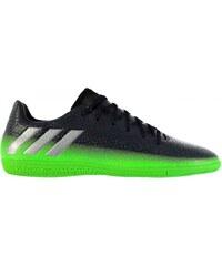 Adidas Messi 16.3 Indoor Court Trainers Junior, dkgrey/solgreen