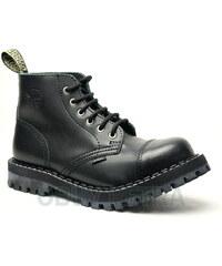 STEEL 6dírkové black, dámská a pánská obuv