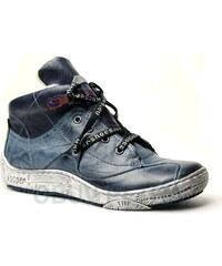 KACPER 4-4951 blue, dámská kotníková obuv - dámská obuv