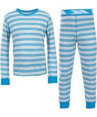 Trespass Chlapecké pruhované termoprádlo Calum - modré