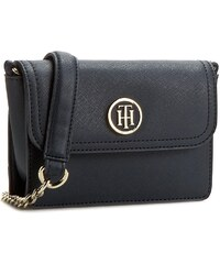 Kabelka TOMMY HILFIGER - American Icon Mini Crossover Saffiano AW0AW03294 001