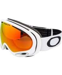 Oakley AFRAME 2.0 Masque de ski polished white/fire iridium