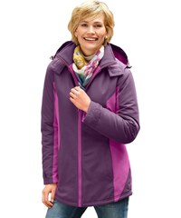 Große Größen: Classic Basics Jacke aus wind- und wasserabweisender Microfaser, lila-pink, Gr.38-56