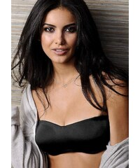 Große Größen: LASCANA T-Shirt BH mit Bügel und abnehmbaren Trägern, schwarz, Gr.75-105