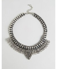 Cara Jewellery Cara NY - Statement-Kette - Silber