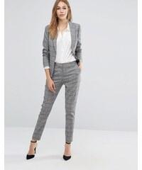 Reiss - Pantalon à carreaux - Gris