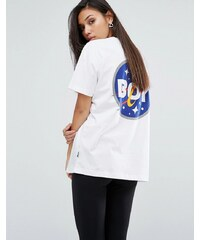 Boy London - Space - T-shirt avec écussons - Blanc