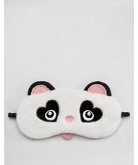 Loungeable - Masque panda pour les yeux - Noir