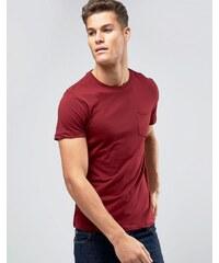 Burton Menswear - T-Shirt mit Satin-Tasche - Grün