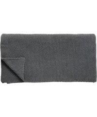 Hübsch Pletený pléd Dark grey 130x200 cm