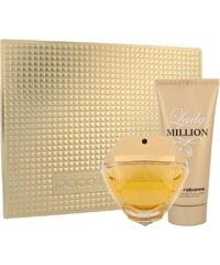 Paco Rabanne Lady Million EDP dárková sada W - Edp 80ml + 100ml tělové mléko