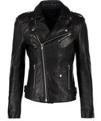 Tigha LEW BUBBLY Veste en cuir black