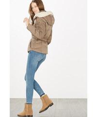 Esprit Péřová bunda s kapucí na zip