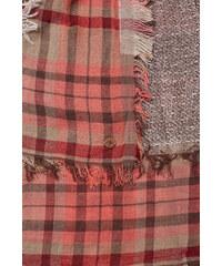 Esprit Foulard à carreaux style patchwork