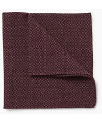 Esprit Pochette imprimé minimaliste, 100 % laine