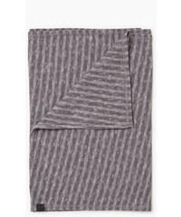 Esprit Écharpe rayée en jersey flammé, coton