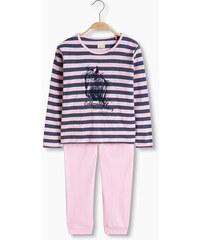 Esprit Měkké pyžamo z žerzeje ze směsi bavlny