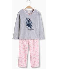 Esprit Melírované žerzejové pyžamo, směs bavlny
