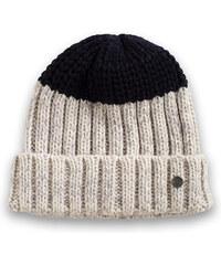 Esprit Doux bonnet color block en maille côtelée