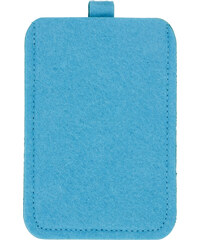 Plstěné pouzdro na mobil - Blankytně modrá univerzal