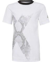 adidas Performance FOOTBALL QUARTER Tshirt imprimé white/black