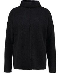 Fine Collection JADE Strickpullover black