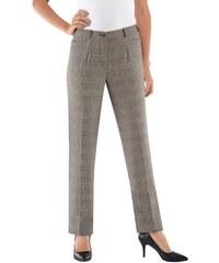 Damen Classic Hose in gepflegtem Dessin CLASSIC braun 38,40,42,44,46,48,50,52,54