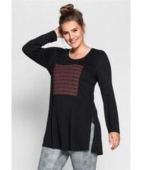 Damen Trend Longshirt SHEEGO TREND schwarz 40/42,44/46,48/50,52/54