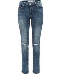 Q/S DESIGNED BY Damen Q/S designed by High-waist-Jeans Mobi blau 32,34,36,38,40,42,44