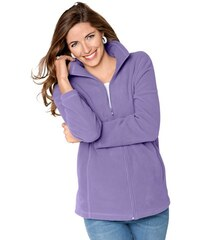 CLASSIC BASICS Classic Basics Jacke in weicher Fleece-Qualität lila 38,40,42,44,46,48,50,52,54,56