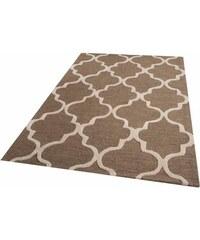 Teppich Parwis Miami handgetuftet PARWIS braun 1 (B/L: 60x90 cm),3 (B/L: 100x150 cm),4 (B/L: 160x230 cm),6 (B/L: 200x290 cm)