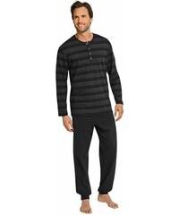Schiesser Pyjama schwarz 48,50,52,54,56,58